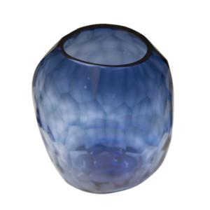 florero formas azul 663-2
