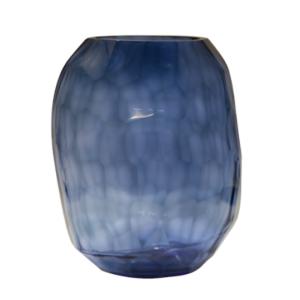 florero formas azul 663-1